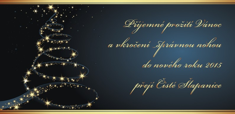 Veselé Vánoce a šťastný nový rok 2015!