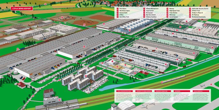 Ministerstvo životního prostředí a ministerstvo zemědělství nesouhlasí se záborem půdy pro průmyslovou zónu Šlapanice